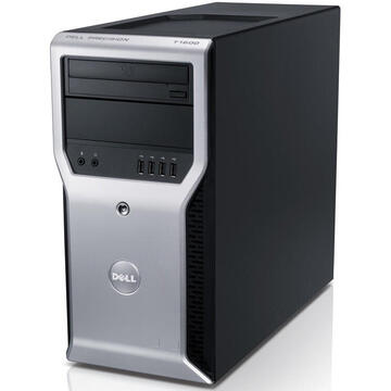 WorkStation second hand Dell T1600 XEON E3-1225 3.10GHz 8GB DDR3 256GB SSD DVD-ROM TOWER