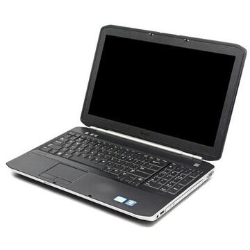 Laptop second hand Dell Latitude E5520 Intel Core I5-2520M 2.50GHz up 3.20GHz 4GB DDR3 500GB HDD 15.6 Inch 1366x766 Webcam