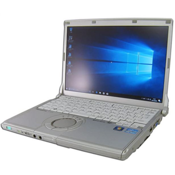 Laptop second hand Panasonic CF-N10 Intel Core I5-2520M 2.50Ghz up to 3.20Ghz 4GB DDR3 320GB 12inch 1024 x 768