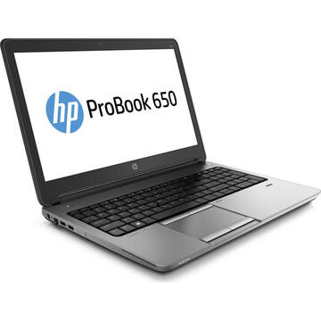 Laptop second hand HP Probook 650 G1 Intel Core i5-4310M 2.70GHz up to 3.40GHz 4GB DDR3 320GB HDD DVD 15.6inch 1366x768