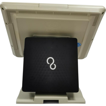 """POS second hand NCR Intel Core i3 4130T 2.90GHz 4GB DDR3 320GB HDD DVD 15"""" Touchscreen"""