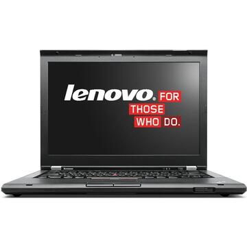 Laptop second hand Lenovo ThinkPad  T430s Intel Core i5-3320M  2.60GHz up to 3.30GHz  4GB DDR3 500GB HDD DVD 14inch 1600x900