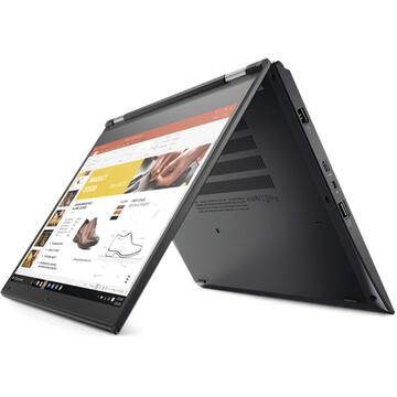 Laptop second hand Lenovo Yoga 370 Intel Core i5-7300U 2.60GHz up to 3.50GHz 8GB DDR4 512GB m.2 SSD 13.3inch FHD IPS TouchScreen Webcam
