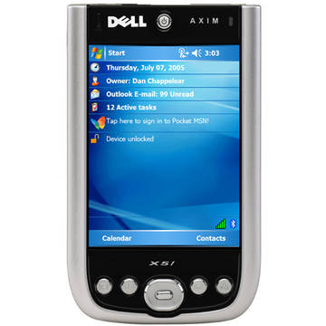 Tablet PC Dell Axim X51 PDA fara alimentator - second hand