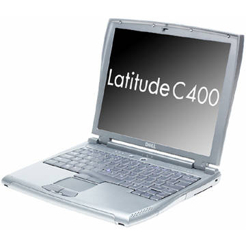 Laptop second hand Dell Latitude C400  Mobile Pentium 3 1.00GHz 512MB DDR1 10GB 12.1 inch