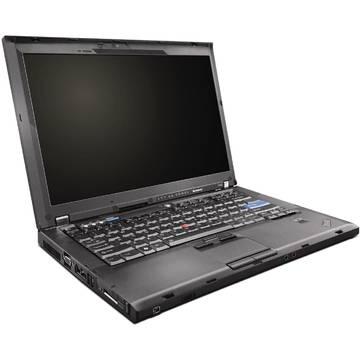 Laptop second hand Lenovo T400 Core 2 Duo T9400 2.53GHz 2GB DDR3 160GB HDD Sata  RW, 14.1 inch Webcam