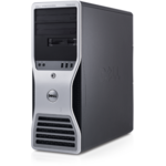 Dell Precision T7500 Xeon Dual Core E5502 1.87GHz 4GB DDR3 FB DIMM 250GB Sata DVD ATI X1300 256 MB Tower Soft Preinstalat Windows 7 Professional