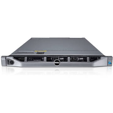 Server second hand Dell PowerEdge R610 2 x Quad Core E5540 2.53Ghz 16GB DDR3 2 x 146GB SAS DVD Raid Perc 6i 2 x PSU