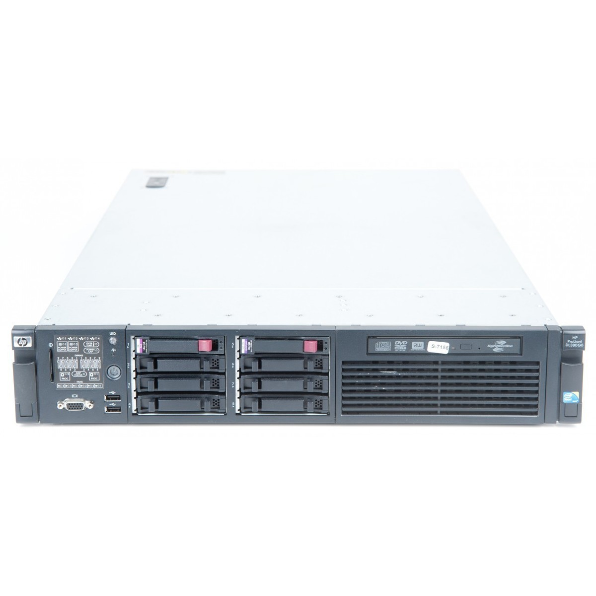 Server Second Hand Proliant Dl380 G6 2 X Xeon Quad Core X5570 2.93ghz 24gb Ddr3 2 X 146gb Sas Raid 2xpsu