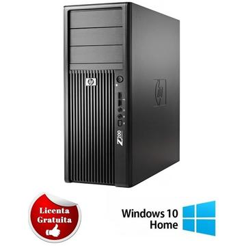 Calculator refurbished HP Workstation Z200 XEON X3460 (i7-860) 2.8GHz 4Gb DDR3 160GB HDD SATA RW Tower Soft Preinstalat Windows 10 Home