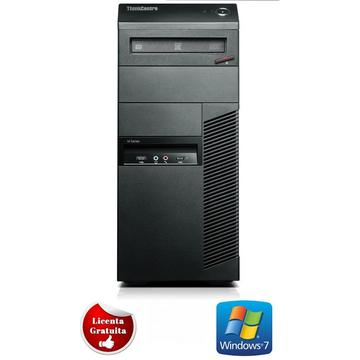 Calculator refurbished Lenovo ThinkCentre M91p Core i7-2600 3.40GHz 4GB DDR3 320GB HDD SATA DVD Tower Soft Preinstalat Windows 7 Home