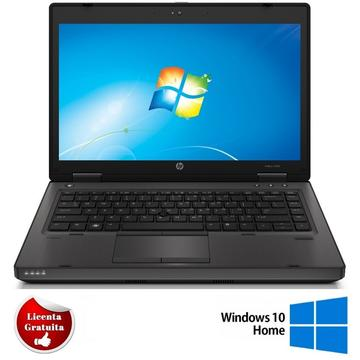 Laptop refurbished HP ProBook 6470b I5-3320M 2.6GHz 8GB DDR3 500GB HDD Sata RW 14.1 inch 1600x 900 Webcam Soft Preinstalat Windows 10 Home