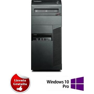 Calculator refurbished Lenovo ThinkCentre M91p Core i7-2600 3.40GHz 8GB DDR3 500GB HDD SATA DVD Tower Soft Preinstalat Windows 10 Professional