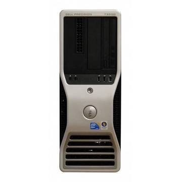 WorkStation second hand Dell Precision T3500 Xeon W3530 2.8GHz up to 3.06GHz 8GB DDR3 2x250GB HDD Sata DVD Nvidia Quadro 2000 1GB GDDR5  Tower Soft Preinstalat Windows 7 Professional