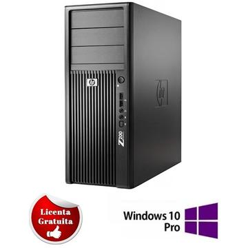 Calculator refurbished HP Workstation Z200 XEON X3470 (i7-860) 2.93GHz 4GB DDR3 320GB (2x160GB) HDD SATA RW Tower Soft Preinstalat Windows 10 Professional
