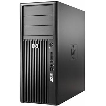 WorkStation second hand HP Workstation Z200 XEON X3460 (i7-860) 2.8Ghz 4Gb DDR3 500GB (2X250GB) HDD SATA RW Tower Soft Preinstalat Windows 7 Professional