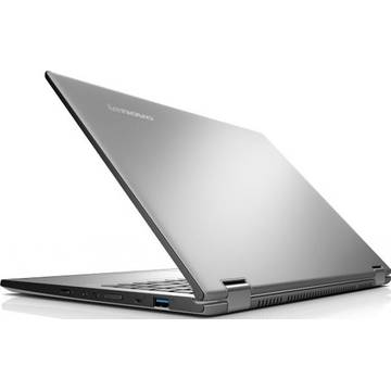 Laptop Renew Lenovo Yoga 2 Core i5-4210U 1.70GHz 8GB DDR3 500GB SSHD 13.3 inch Full HD Multitouch Bluetooth Webcam Windows 8.1