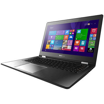 Laptop Renew Lenovo Yoga 500-14IHW Core i3-4030U 1.90GHz 4GB DDR 500 GB HDD 14 inch Multitouch NVIDIA GeForce 920M 2GB Bluetooth Webcam Windows 8.1