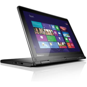 Laptop Renew Lenovo S1 Yoga Core i3-4030U 1.9 GHz 4GB DDR3 500+16 GB HDD 12.5 inch Full HD Multitouch Bluetooth Webcam Windows 8.1