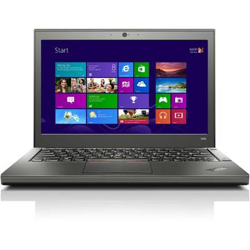 Laptop Renew Lenovo X240 Core i5-4210U 1.7 GHz 4GB DDR3 256GB SSD 12.5 inch Bluetooth Webcam Windows 7 Professional