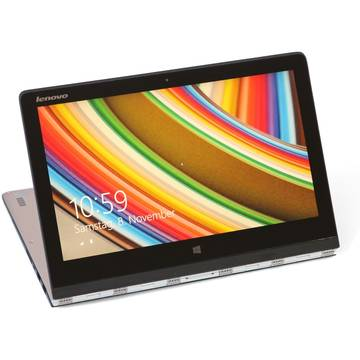 Laptop Renew Lenovo Yoga 3 Pro Core M-5Y51 1.1 GHz 8GB DDR3 256GB SSD 13.3 inch Multitouch IPS Webcam Windows 8.1