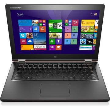 Laptop Renew Lenovo Yoga 2 13 Core i5-4210U 1.7 GHz 8GB DDR3 256GB SSD FullHD Multitouch Bluetooth Webcam Windows 8.1