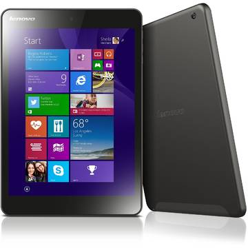 Tableta Renew Lenovo MIIX 3-830 Intel Atom Z3735F 1.33 GHz 2GB RAM 32GB Flash 7.85 inch XGA Multitouch Bluetooth Webcam Windows 8.1