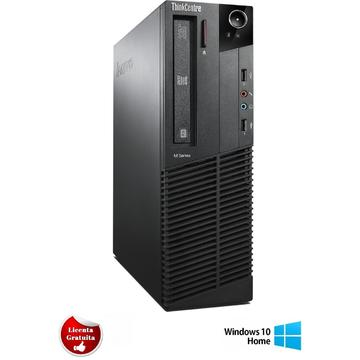 Calculator refurbished Lenovo ThinkCentre M92p Core i5-3470 3.2GHz 4GB DDR3 320GB HDD SATA DVD-RW Desktop Soft Preinstalat Windows 10 Home