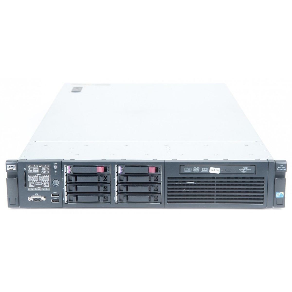 Server Second Hand Proliant Dl380 G6 2 X Xeon Quad Core X5570 2.93ghz 24gb Ddr3 2 X 146gb Sas Raid 2xpsu Soft Preinstalat Windows Server 2012 Essentials Rok 25 Clienti