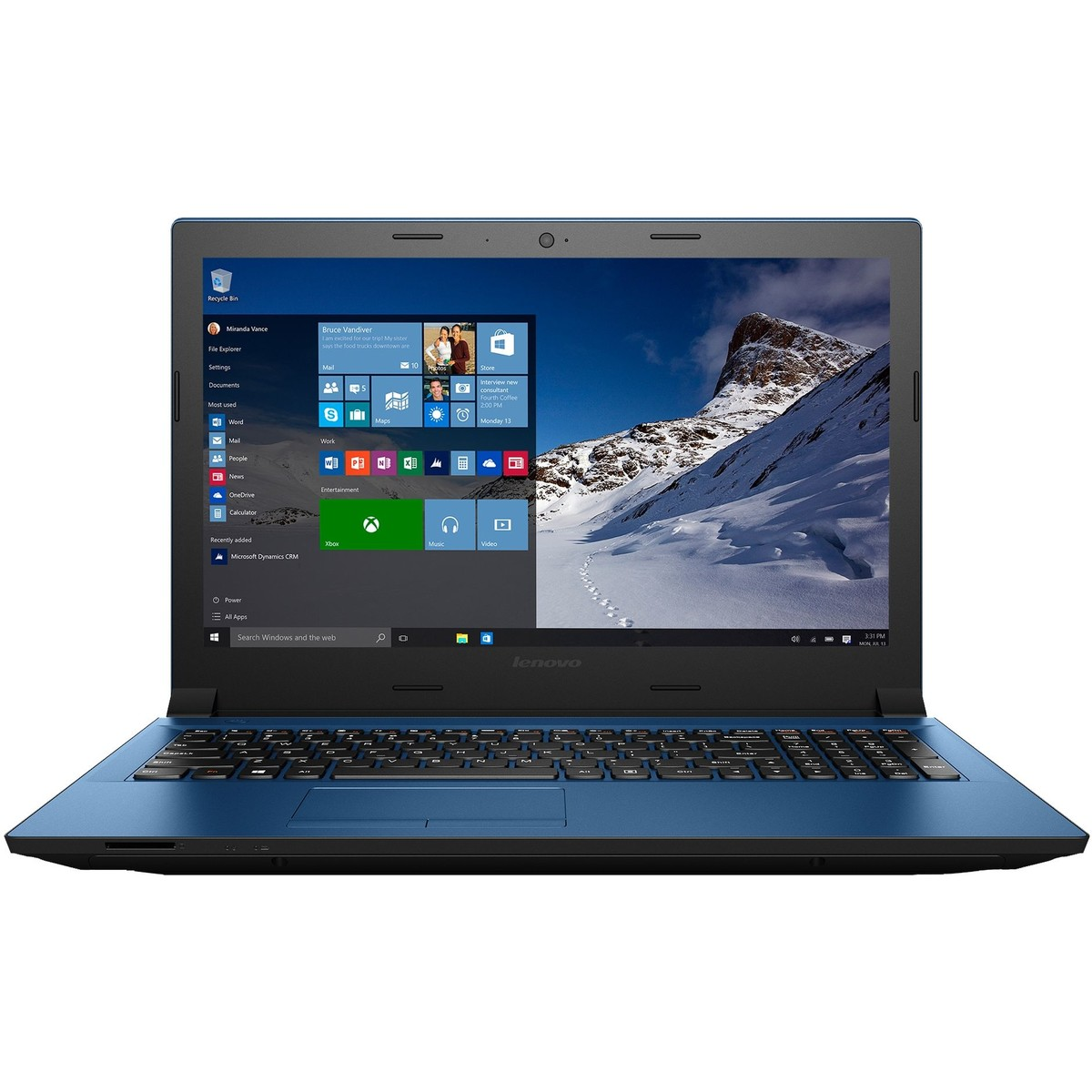 Laptop Renew Ideapad 305-15IHW Intel Core i3-4005U 1.7 GHz 4GB DDR3 1TB HDD Webcam Windows 8.1