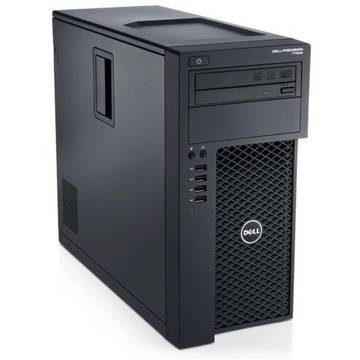 WorkStation second hand Dell Precision T1650 E3-1220 3.1GHz (i7-3370) 16Gb DDR3 256GB SSD DVD-RW Nvidia Quadro 2000 1GB Dedicat