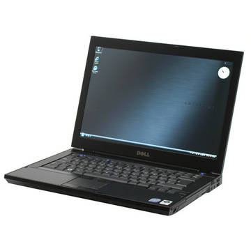 Laptop second hand Dell Latitude E6400 Core 2 Duo P8600 2.40GHz 2GB DDR2 120 GB HDD Sata RW 14.1 inch