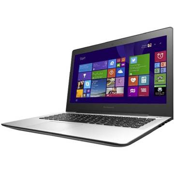 Laptop Renew Lenovo U41-70 Intel Core i5-5200U 2.2 GHz 8GB DDR3 1TB HDD SSH 14 inch HD Bluetooth Webcam Windows 8.1