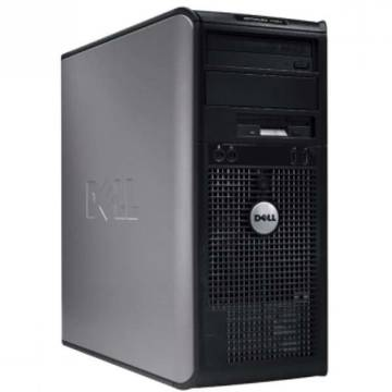 Calculator refurbished Dell OptiPlex 360 Core 2 Duo E8500 3.16GHz 4GB DDR2 320GB (2 x160)  HDD Sata RW Tower Soft Preinstalat Windows 7 Home