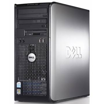 Calculator refurbished Dell OptiPlex 360 Core 2 Duo E8500 3.16GHz 4GB DDR2 250GB HDD Sata RW Tower Soft Preinstalat Windows 10 Home