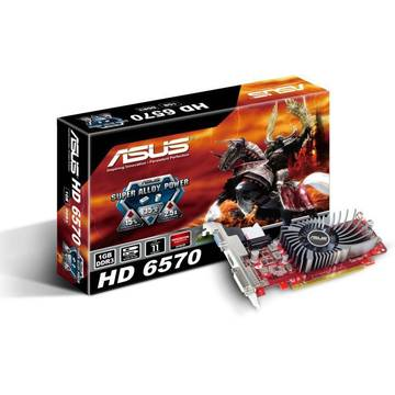 Asus Upgrade AMD Radeon EAH6570 DI 1GB DDR3 LP 128Bit VGA HDMI DVI