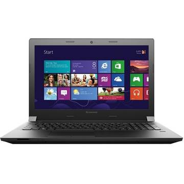 Laptop Renew Lenovo B50-80 Intel Core i5-5200U 2.2GHZ 4GB DDR3 500GB HDD 15.6 inch Webcam Bluetooth Windows 8.1