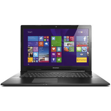 Laptop Renew Lenovo G70-80 Intel Core i3 4030U 1.9 GHz 4GB DDR3 1 TB HDD 17.3 inch HD+ Bluetooth Webcam Windows 8.1